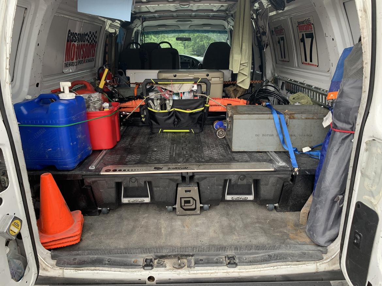 Decked Van