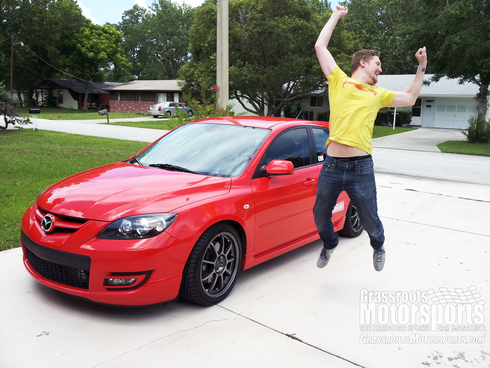 Mazdaspeed3 For Sale >> Passing the Keys | Mazda Mazdaspeed3 | Project Car Updates ...