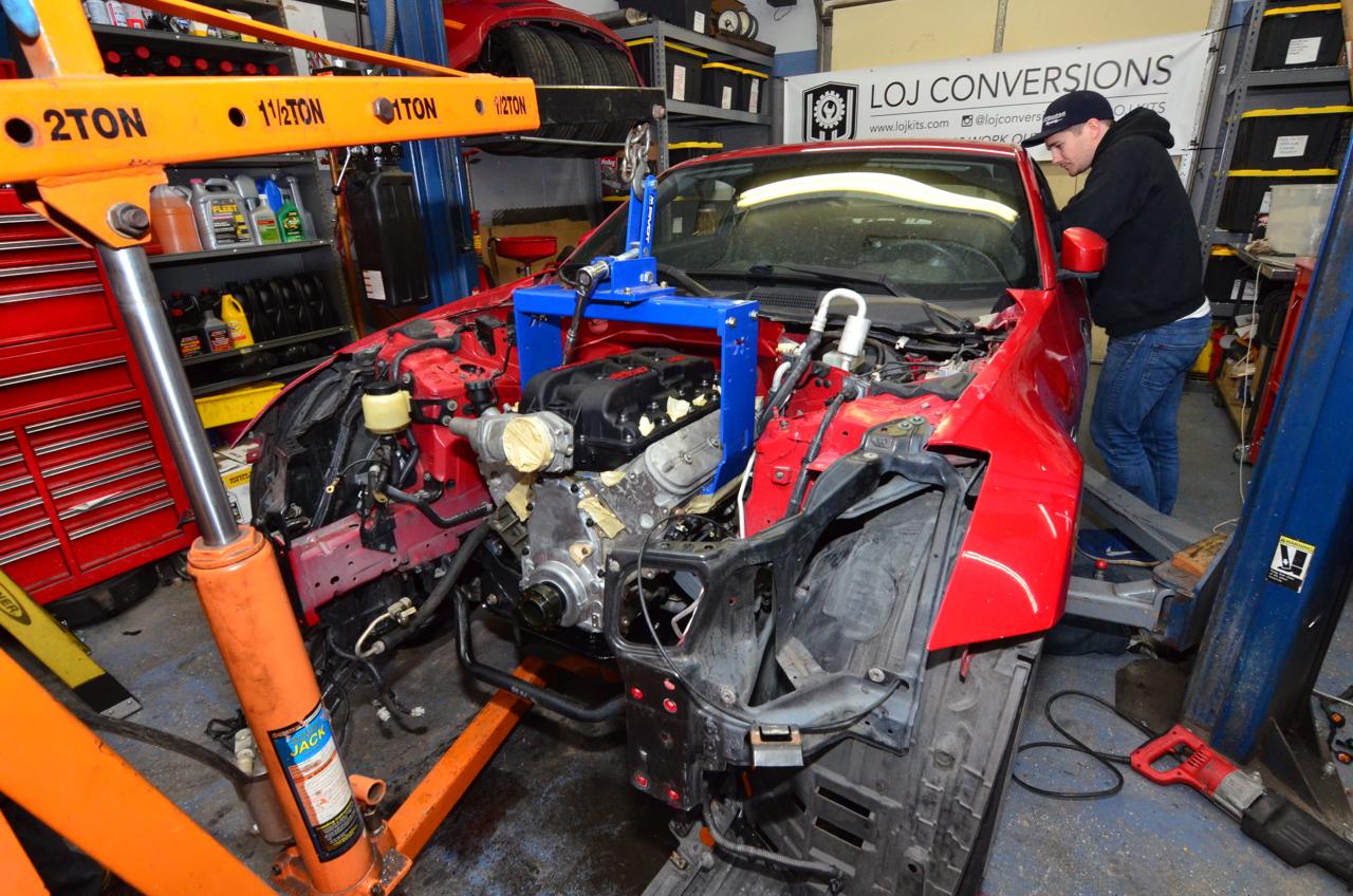 Project LSZ: Installing the LS1   Nissan 350Z   Project Car Updates