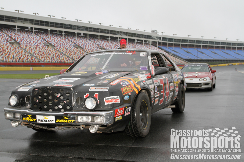 Lincoln Crapcan Runs The Roval Lincoln Mark Vii Project Car
