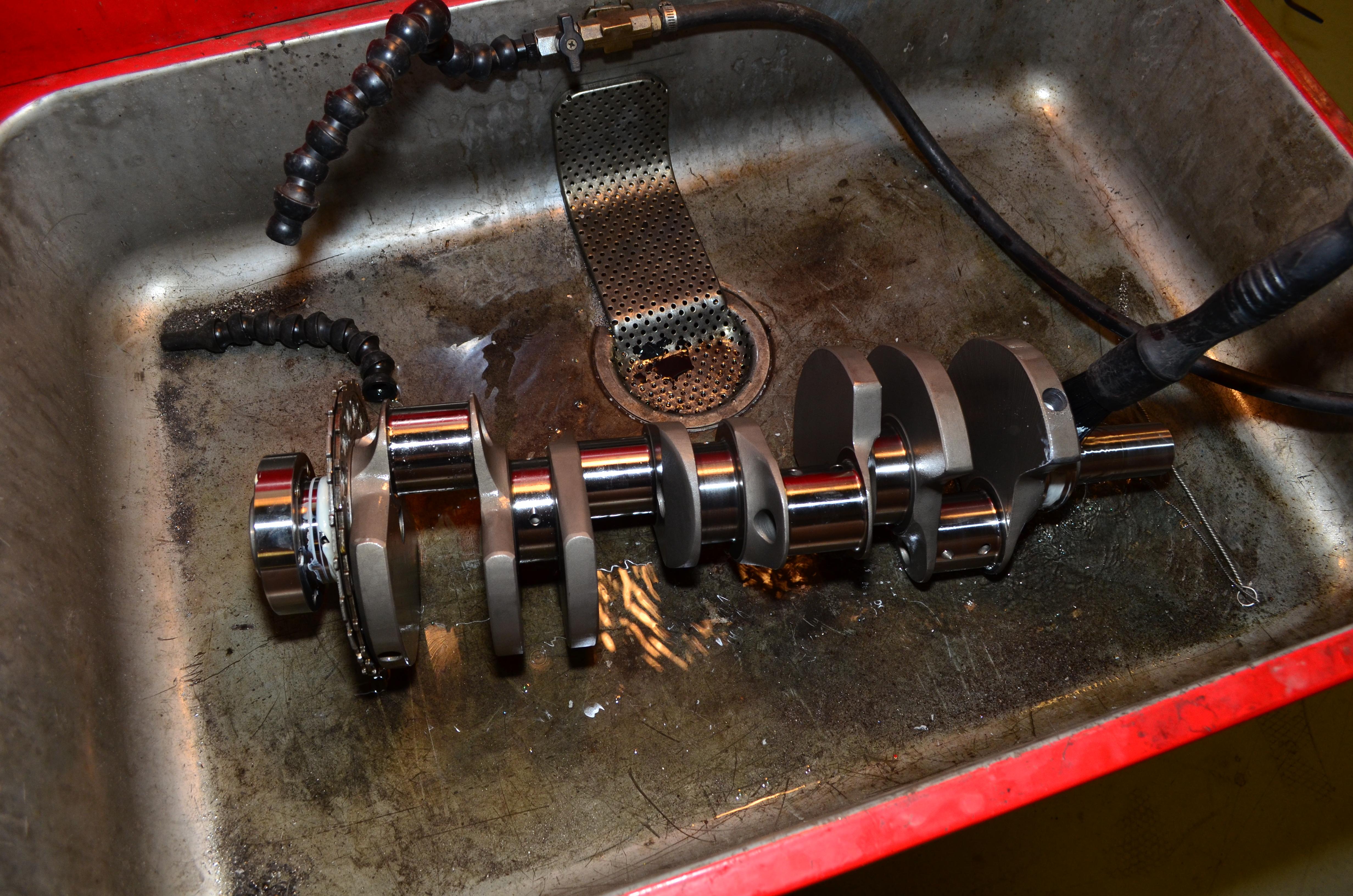 DIY LS1 Crankshaft Balancing | Nissan 350Z | Project Car