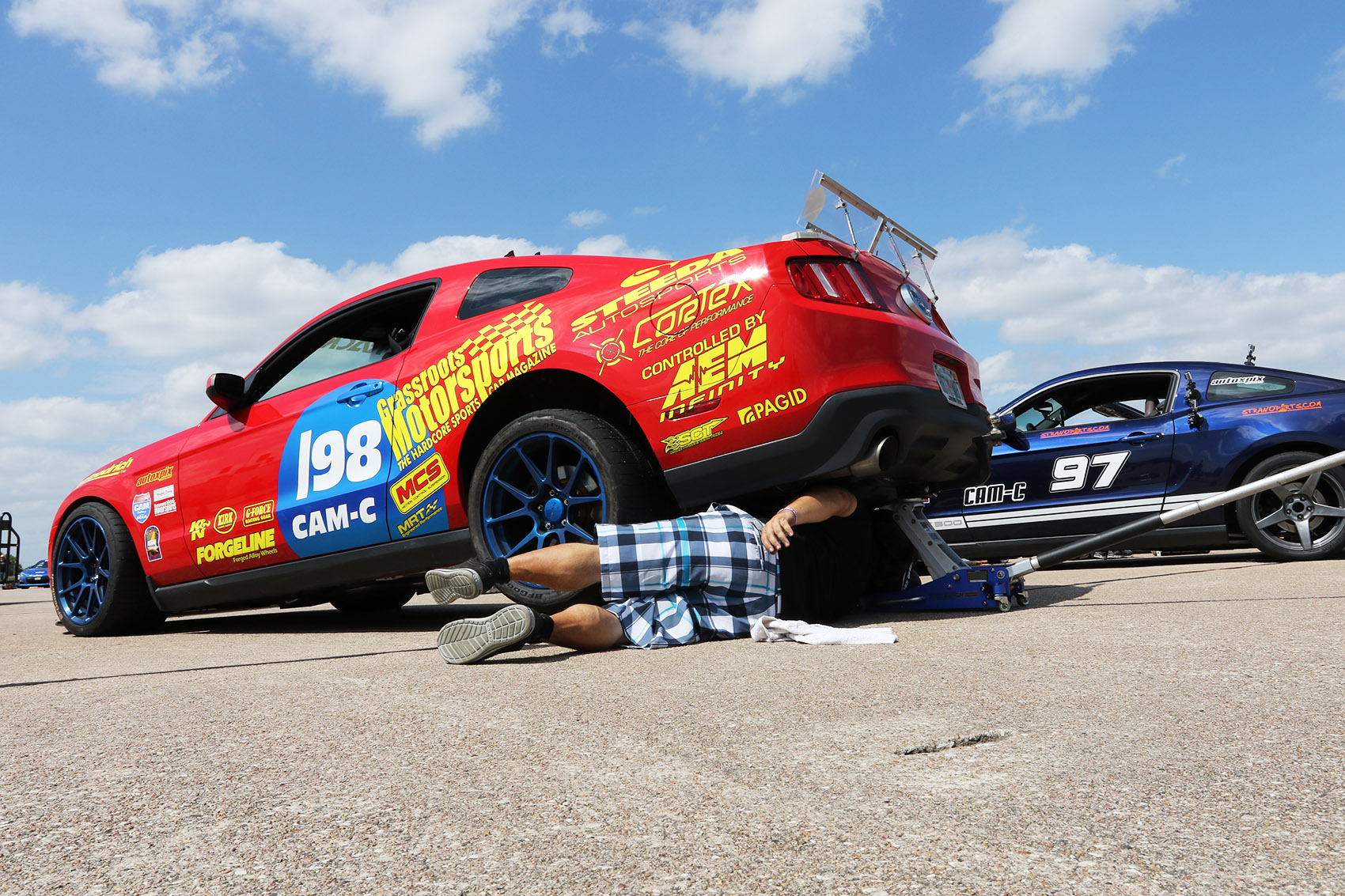project mustang attacks scca solo nationals
