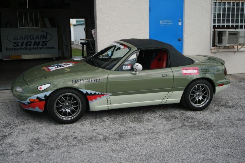 Dressing Up For Solo Nationals Mazda Miata Turbo Project Car - Mazda military