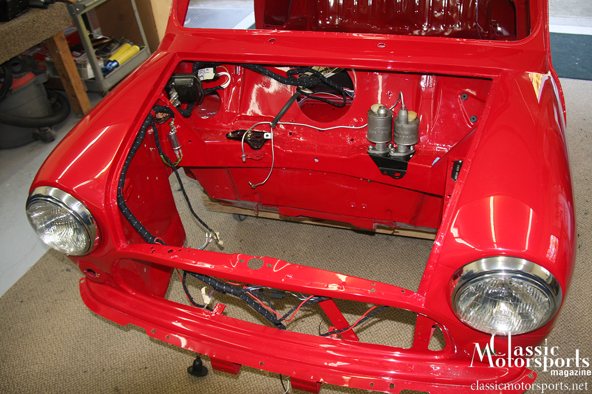 Amazing Starting The Reassembly Austin Mini Cooper S Project Car Updates Wiring Digital Resources Lavecompassionincorg