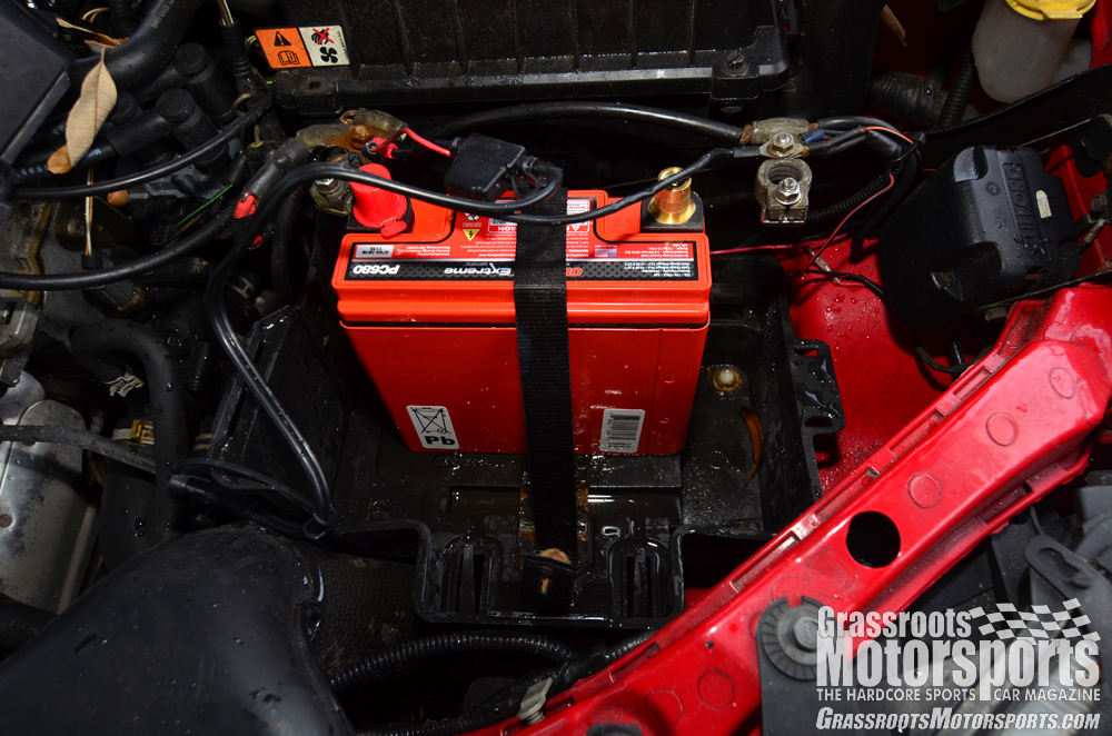 New Car Battery Smaller Than Old One