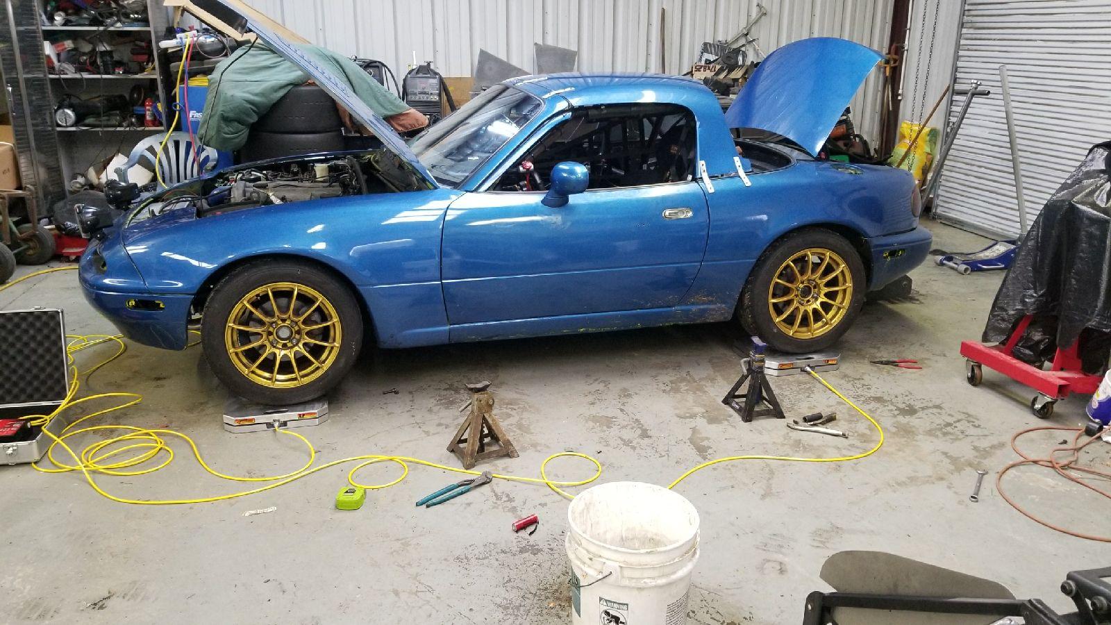 turbo miata cutting springs mazda miata project car updates grassroots motorsports