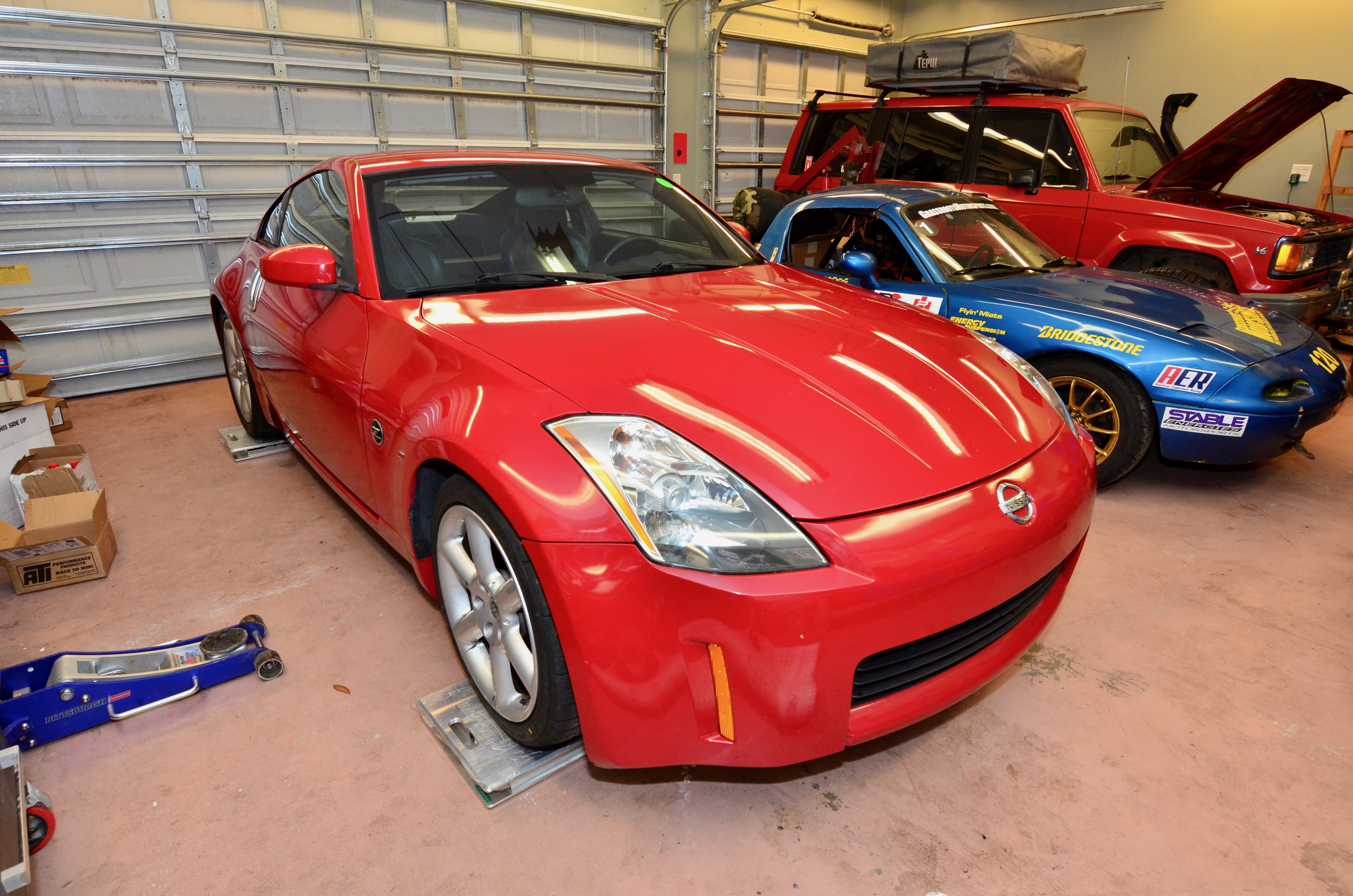 project lsz what does it weigh nissan 350z project. Black Bedroom Furniture Sets. Home Design Ideas