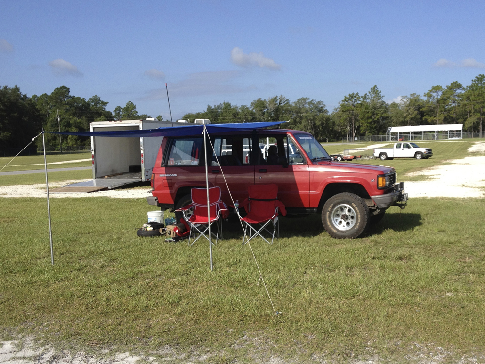 Budget Awning for Budget Racers | Isuzu Trooper | Project ...