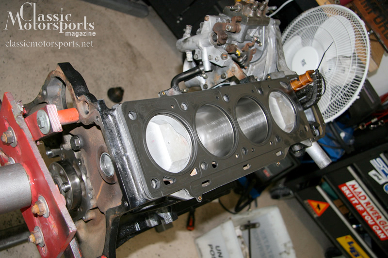 Project 2002 Engine Assembly