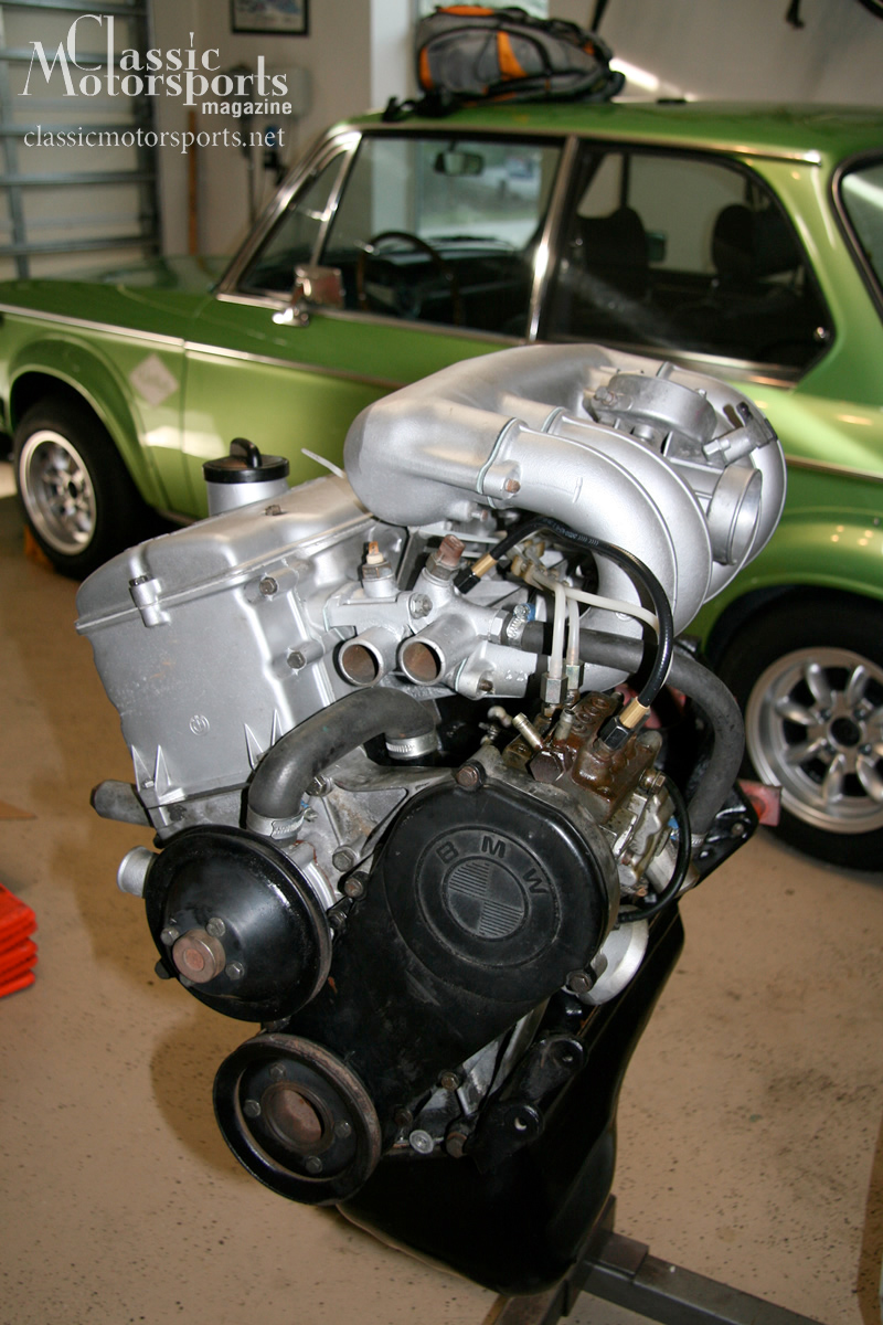 Project 2002 Engine Assembly Bmw 2002tii Project Car Updates Classic Motorsports