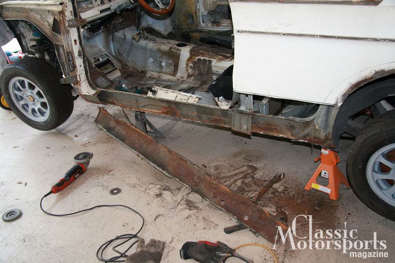 Rocker Panel Replacement Bmw 2002tii Project Car