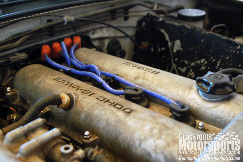 An evening of garage therapy | Mazda MX-5 Miata | Project Car ... on miata oil pan, miata heads, miata wiring harness, miata crank sensor, miata throttle body, miata radiator, miata starter, miata fuel pump, miata wheels, miata coil on plug,