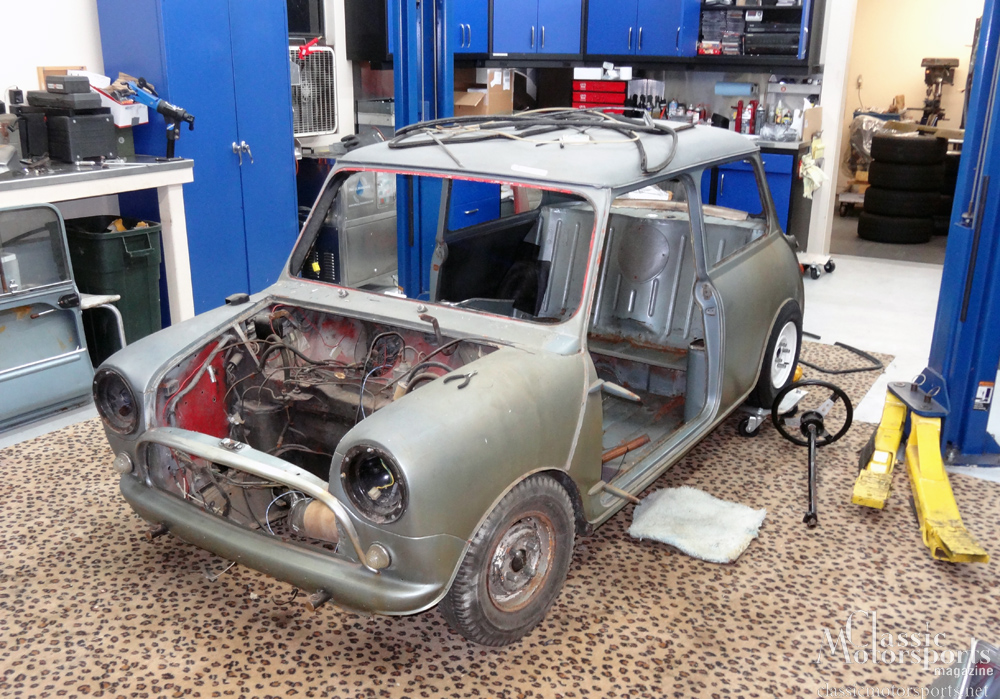 Stripping Down The Tiny Body Austin Mini Cooper S Project Car