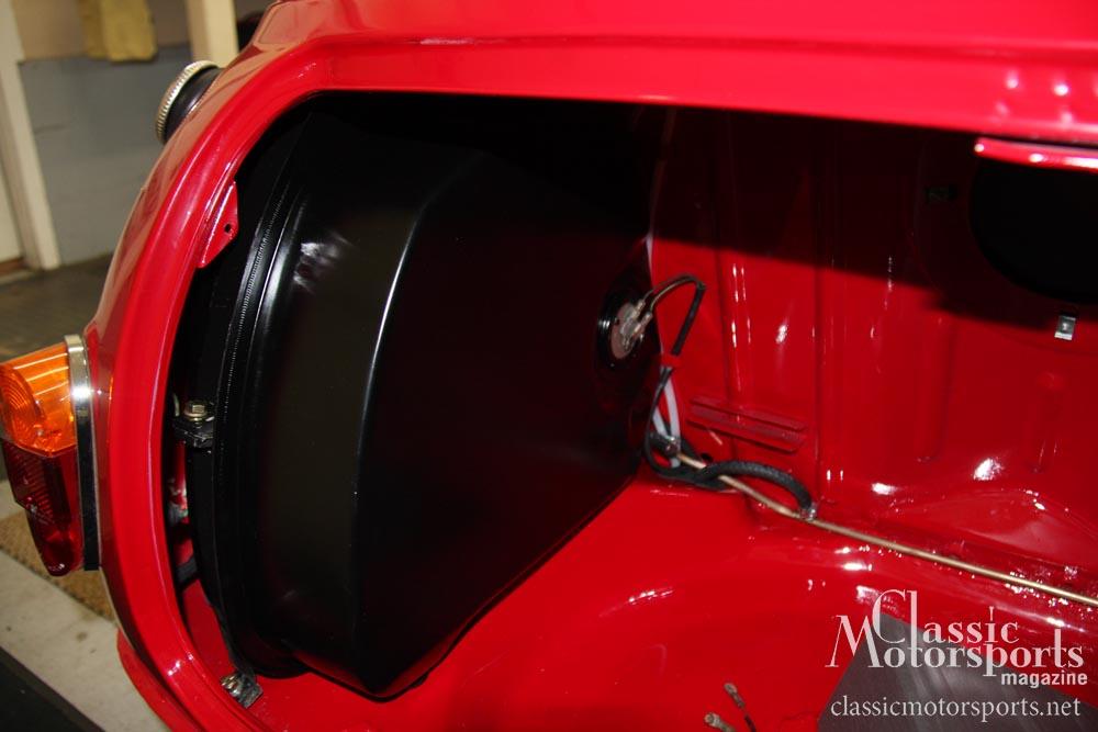 Installing The Gas Tanks Austin Mini Cooper S Project