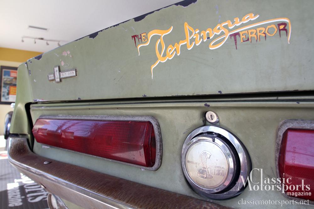 Vintage Vinyl Graphics   Shelby GT 350   Project Car Updates