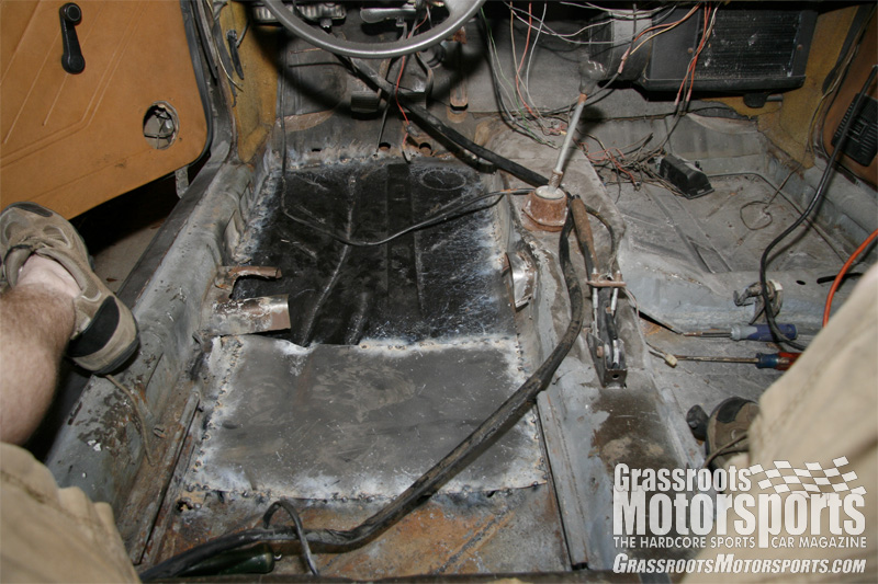 Cleaning Welding And Pontificating Volkswagen Scirocco