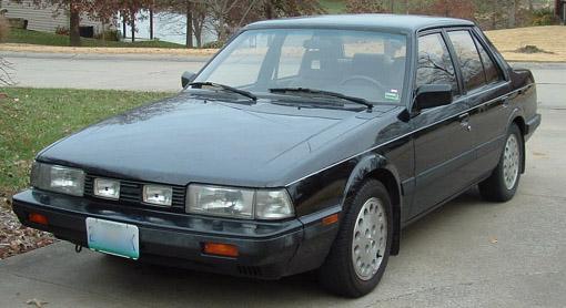 jamesmcd's mazda 626 gt sedan: readers rides: