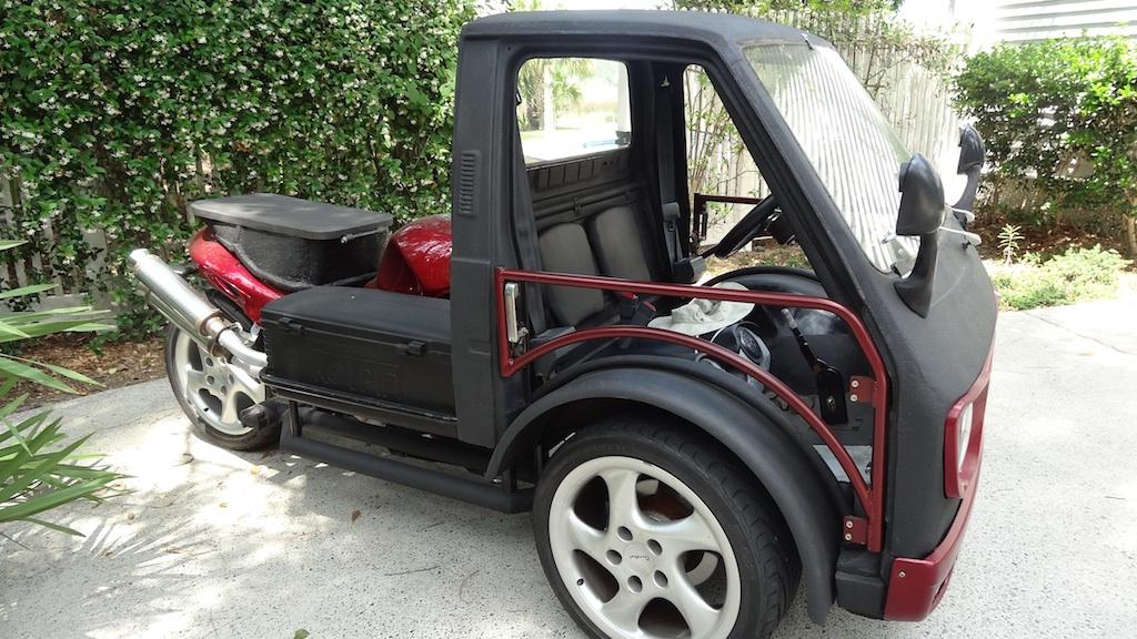 Ben_Modified's Suzuki Carrabusa Reverse Trike: Readers Rides: