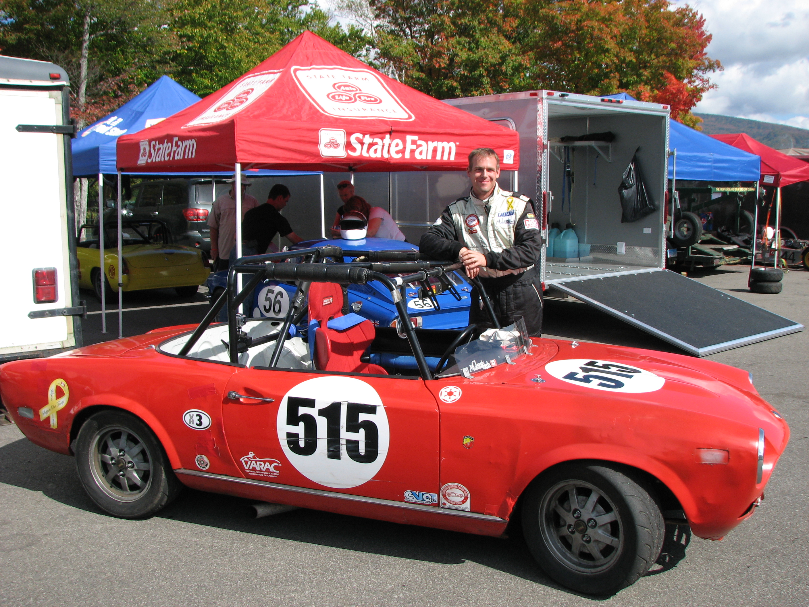 Andregt6 S Fiat 124 Spider Race Car Readers Rides