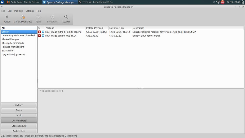 Fix my Xubuntu?  Off-Topic Discussion forum  