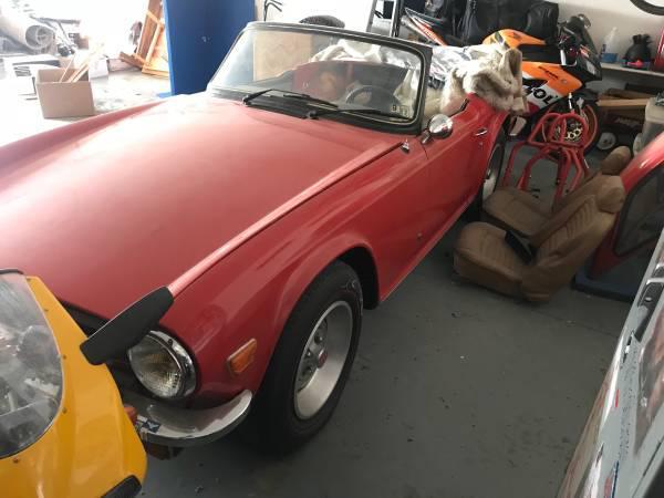 1976 Triumph Tr6 Slow Budget Build Builds And Project Cars Forum