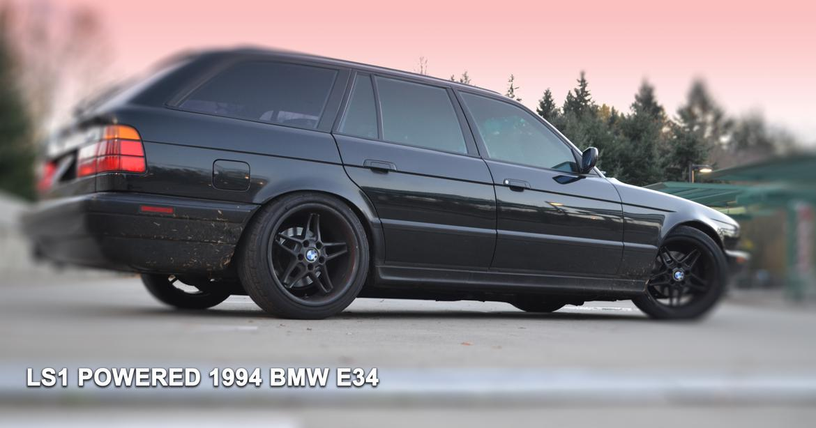 LS1 BMW E34 Touring (5 series wagon) Swap| Builds and Project Cars