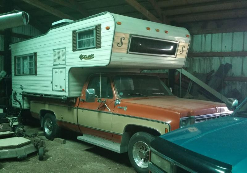 Astounding The Bicentennial Camper Truck 1976 Chevy C20 Camper Beatyapartments Chair Design Images Beatyapartmentscom