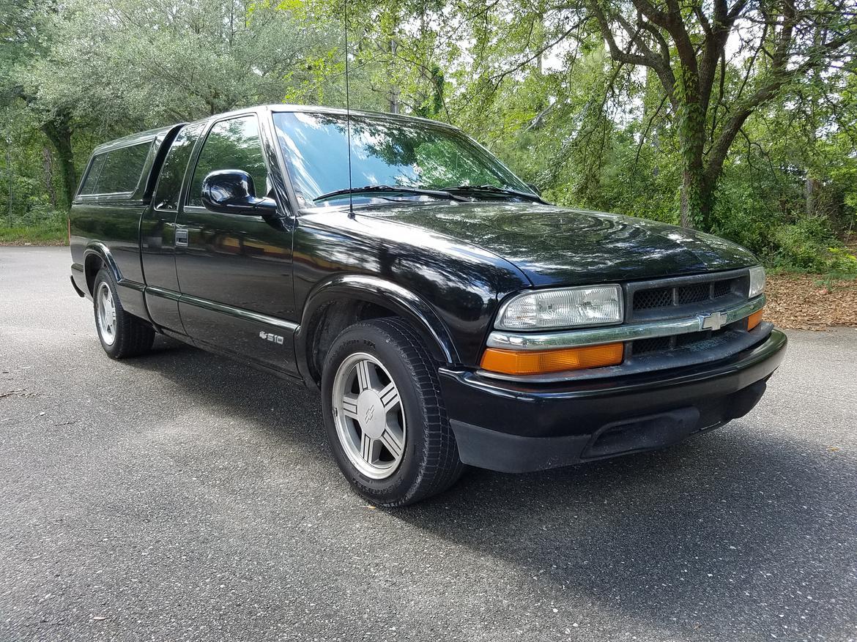 1998 extended cab s10 zq8 5-speed 4 3 V6 jacksonville FL