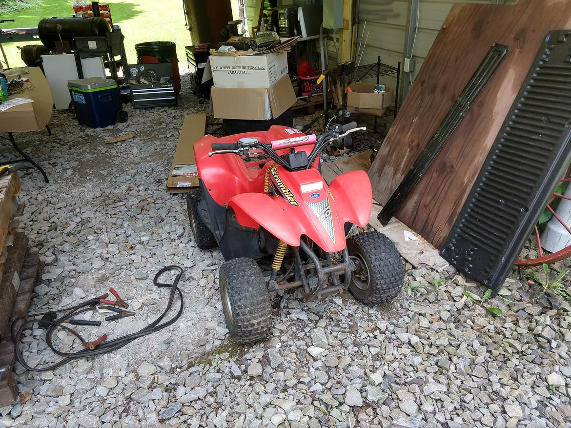 The Chinese Quad Puzzle Builds And Project Cars Forum Meerkat 50cc Atv Starter Wiring So I Cheated Got Another On Other One Just Aggravates Me Might Finally Farm It Out To Someone Else Make Run