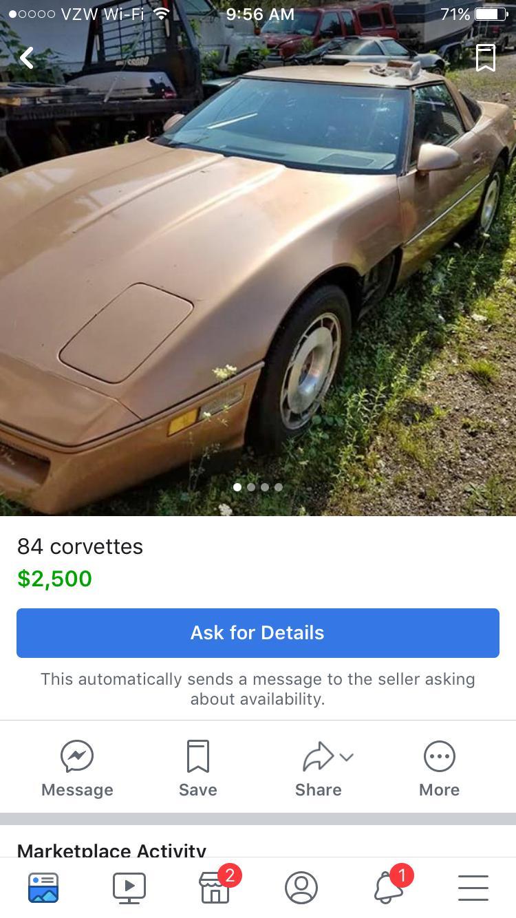 C4 - Corvettes, Cheap  Post 'em here-Page 6| Parts For Sale forum |