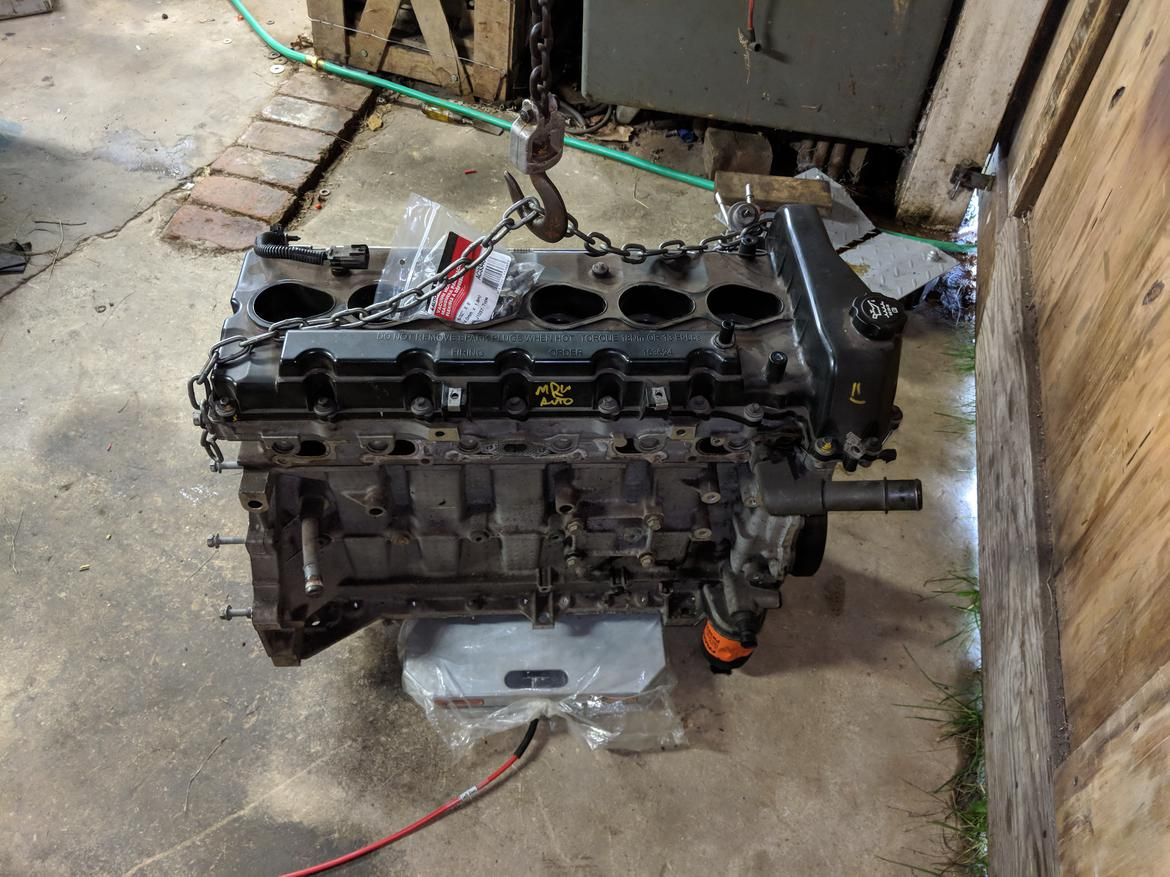 1963 Studebaker Lark Page 6 Builds And Project Cars Forum Wiring Harness Next I Drug This Out Of The Corner Yanked Oil Pan Weighed It