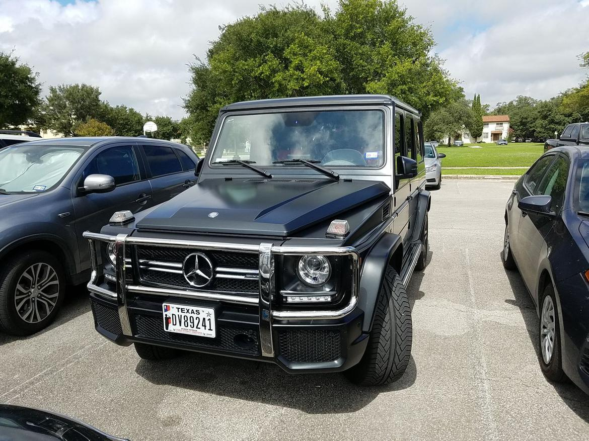 I'm pretty much sold on getting a G-Wagon| Grassroots