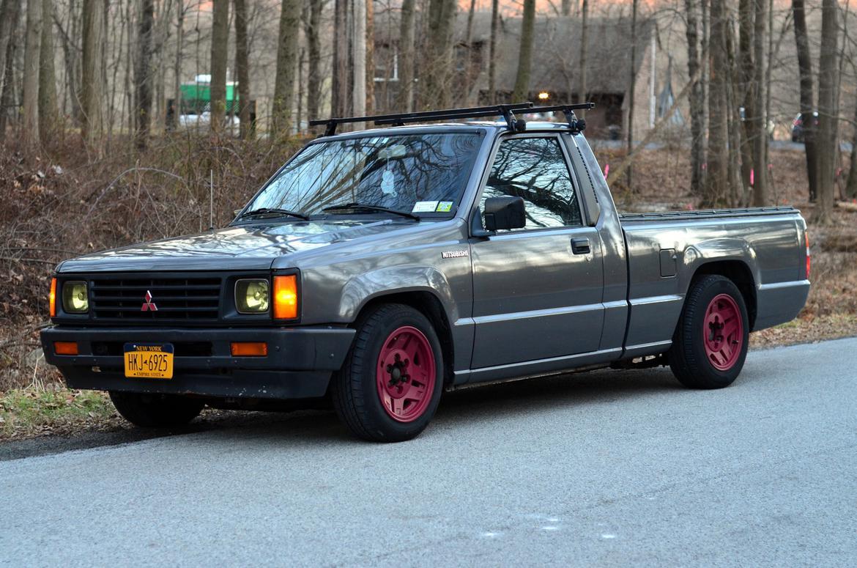 $2018 1989 Mitsubishi Mighty Max 5 speed  It's mine  NY