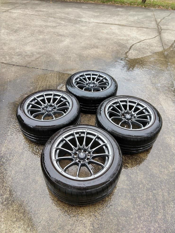 Triad Area, NC: 15x8 wheels w/ tires| Parts For Sale forum