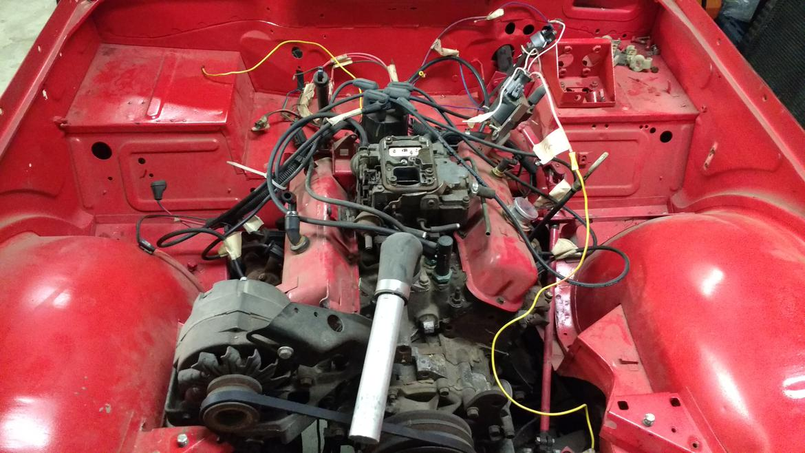 Barely Functional Racing Ls Swaps A Triumph Tr4 Builds And Project