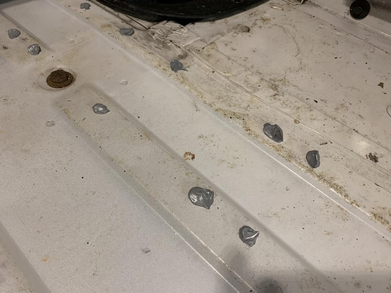 Sealing holes