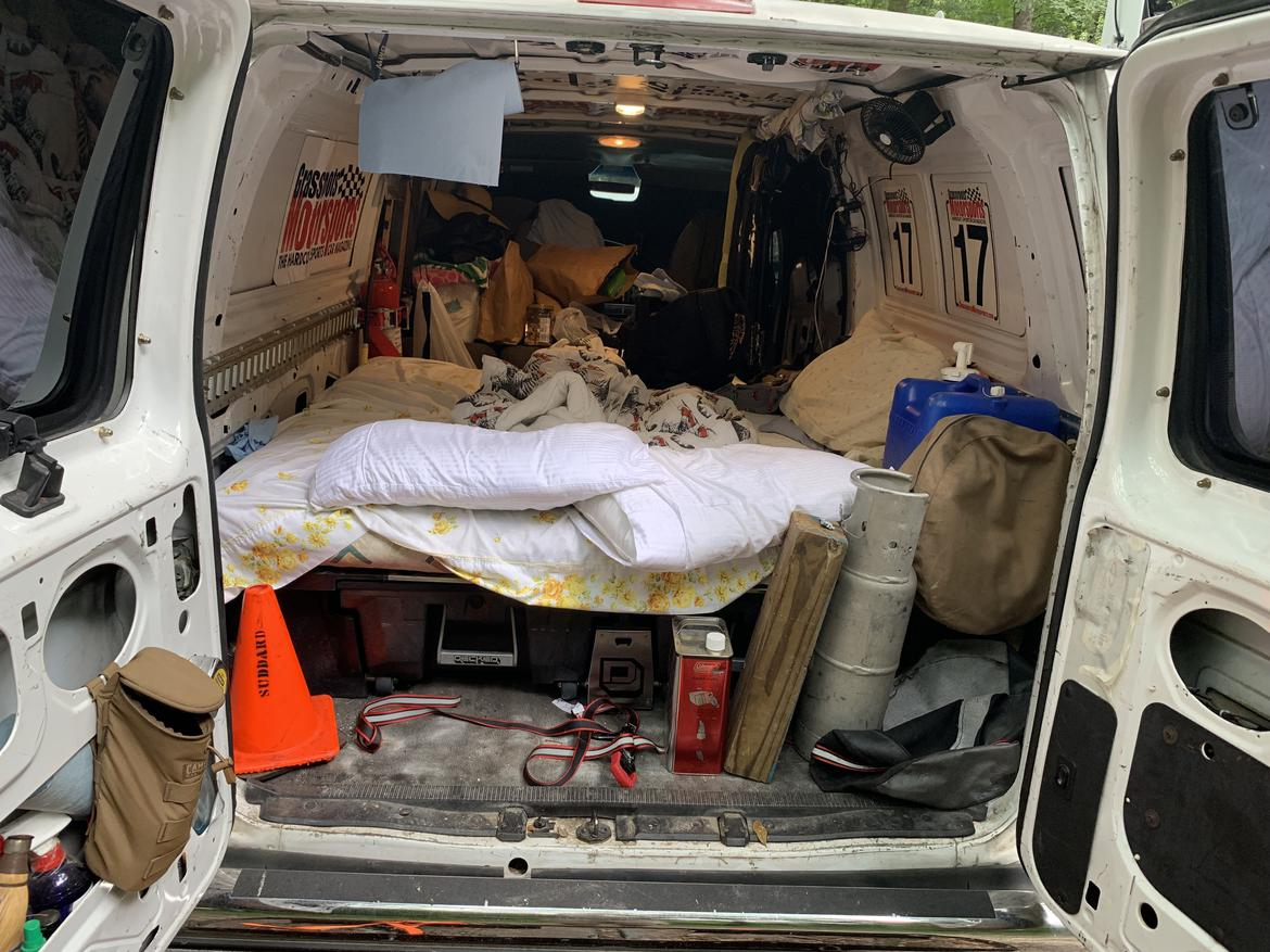 Decked Van with Bed