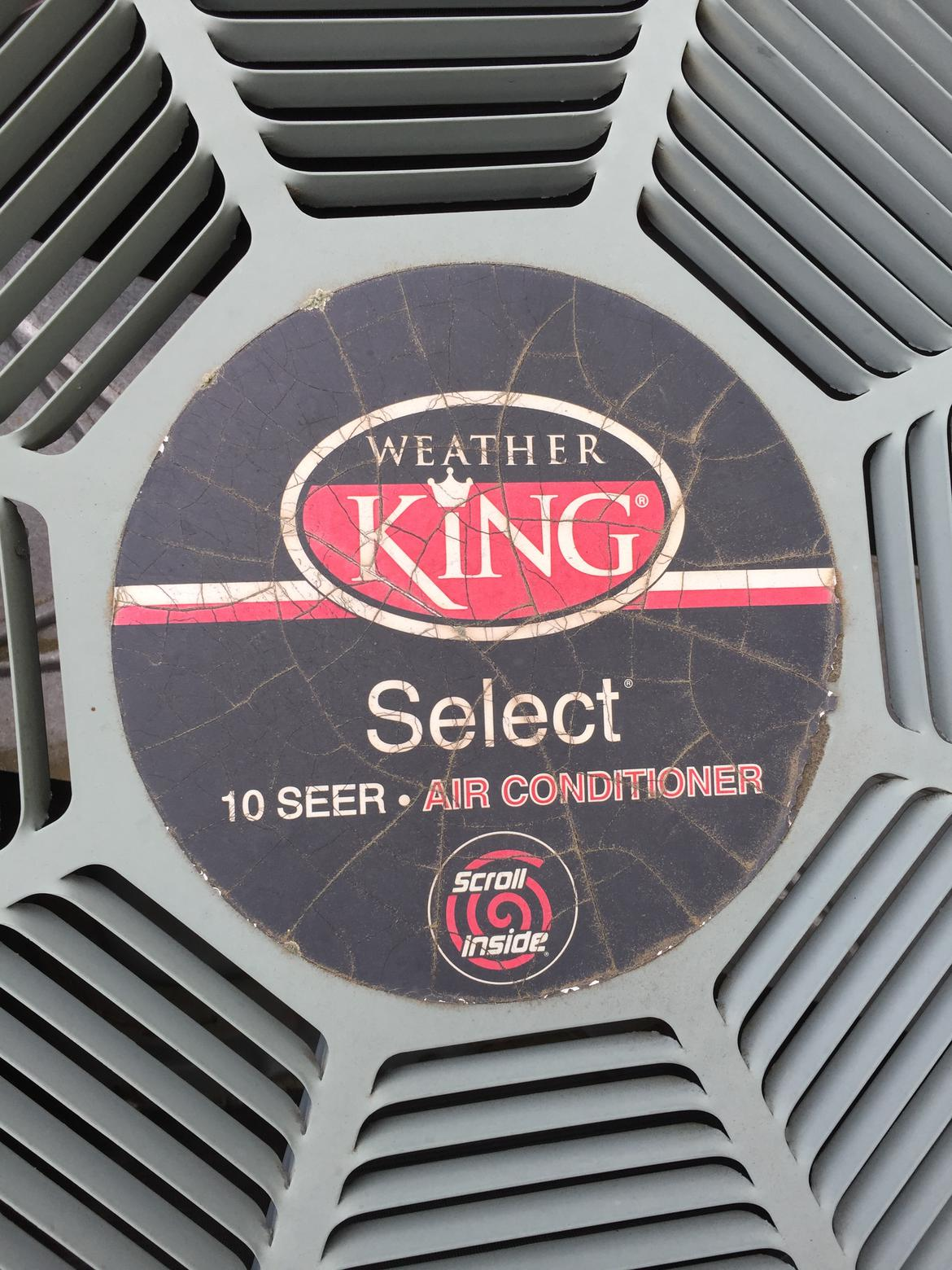 Weather King Select A/C, outdoor fan not spinning| Off-Topic