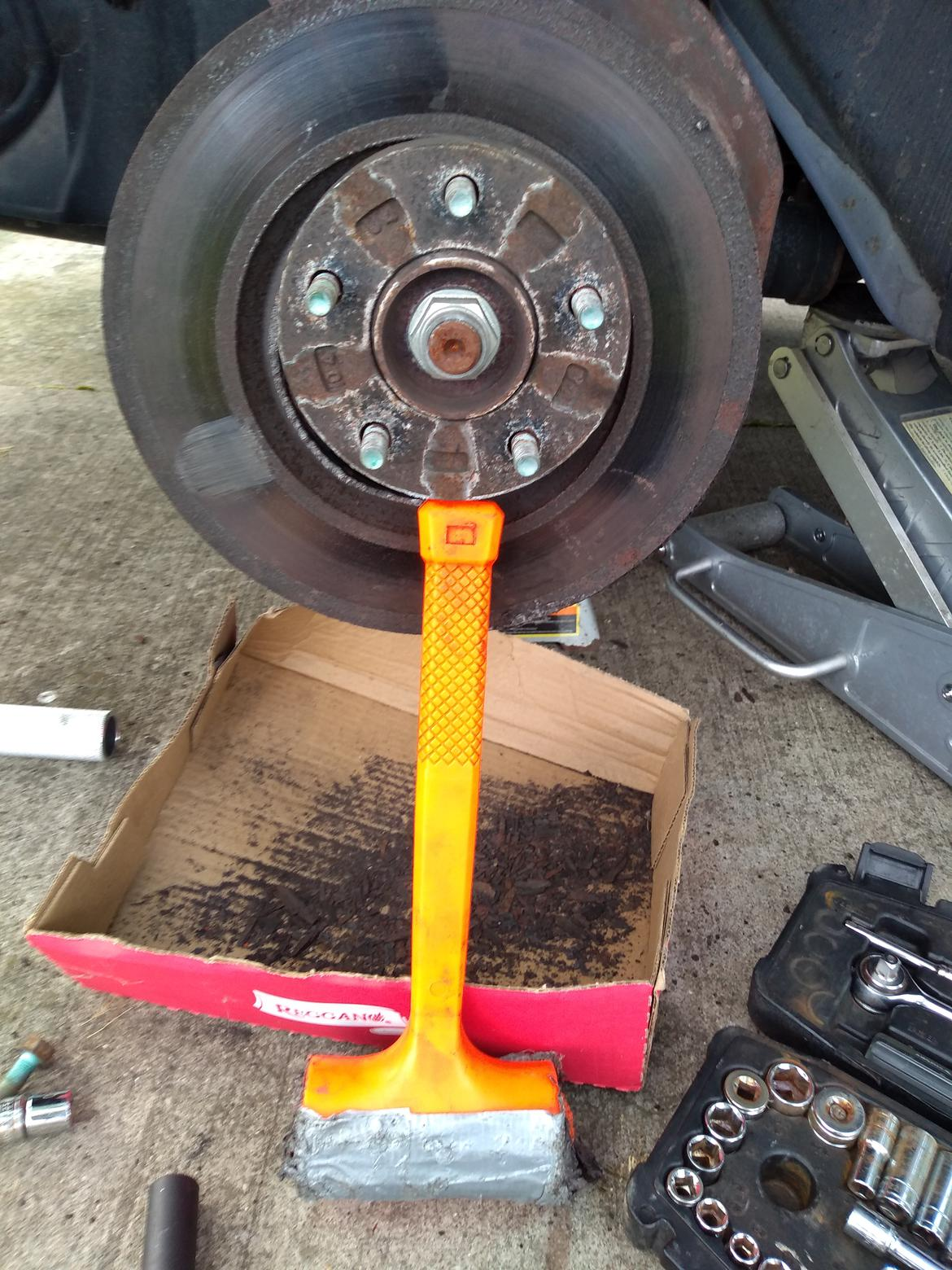 Brake Job In The Rust Belt Off Topic Discussion Forum It also helps control striking force with minimal rebound from the striking surface. brake job in the rust belt off topic