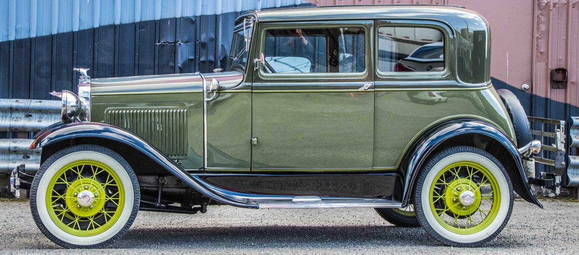 For Sale In Seattle, WA: 1930 Ford Model A Victoria Deluxe