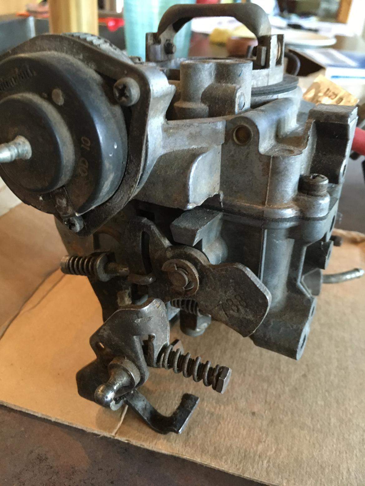 Carburetor Enthusiasts: I need help with a Holley 1946 on a 200 I6