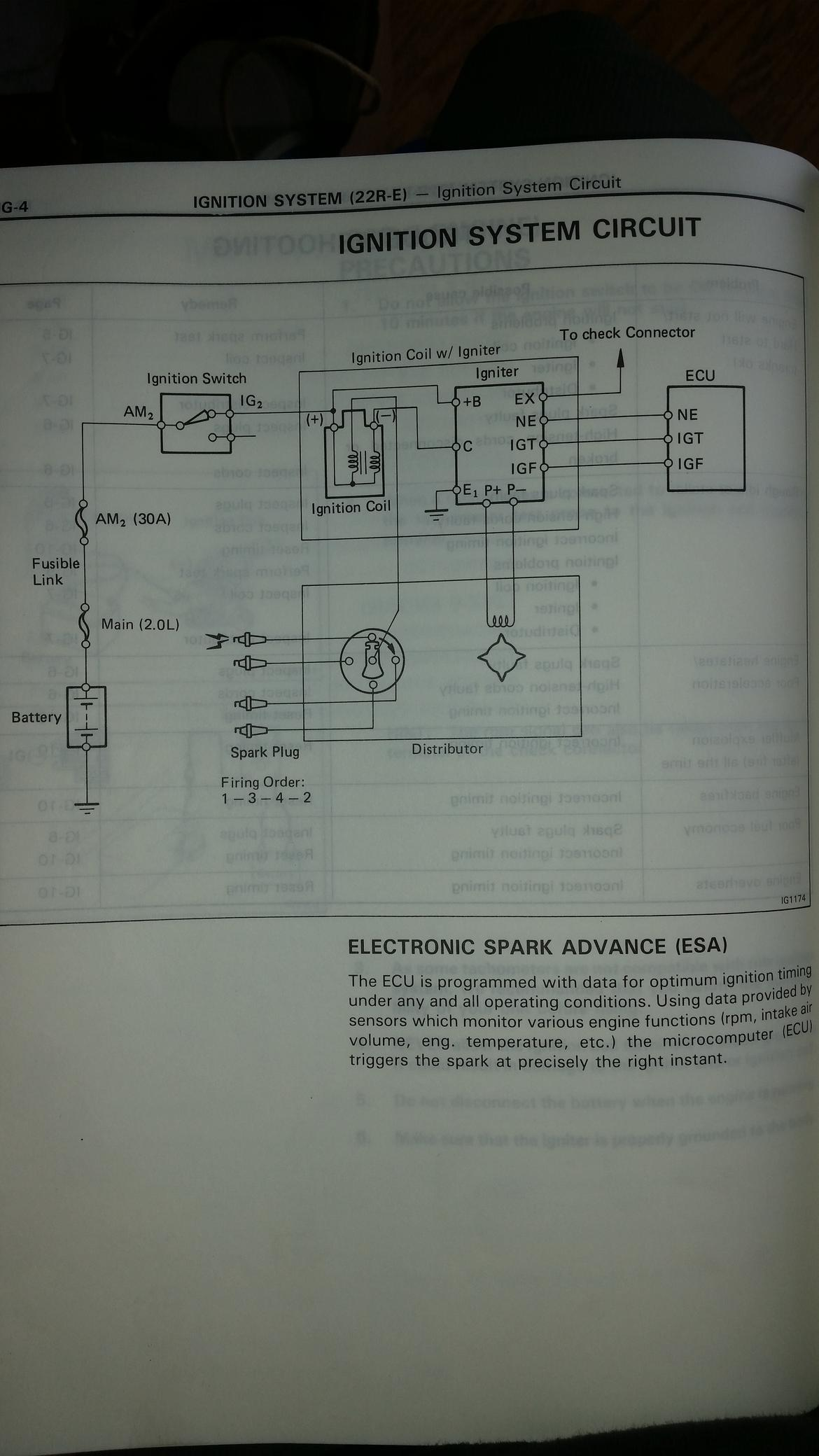 And Wiring Diagram For 22re Wiring Harness Wiring Diagram More