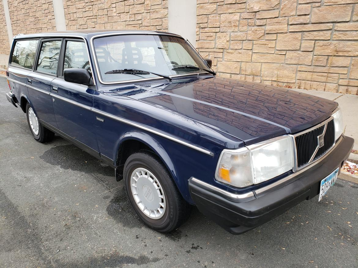 1989 Volvo 240 Wagon 5 speed manual  Cars For Sale forum