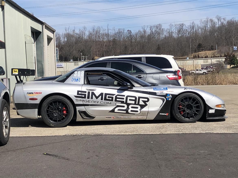 """Eric Ingram's 2002 Chevrolet Corvette Z06, """"The Battleship"""""""
