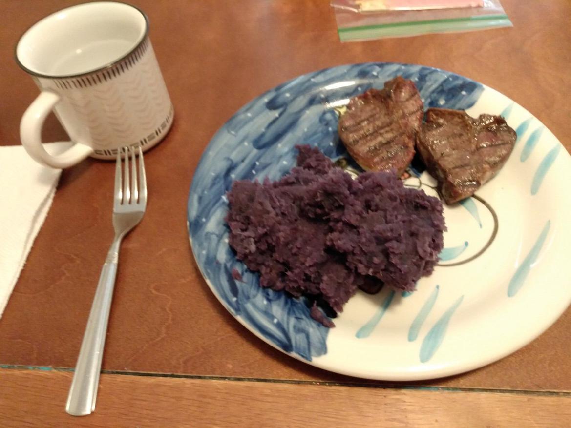 Purple potatoes?
