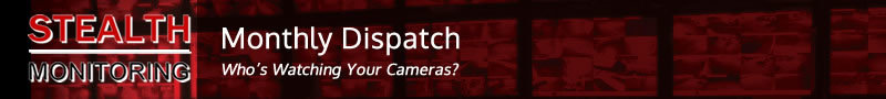 Stealth Monitoring Monthly Dispatch banner
