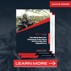 Cannabis Security Solutions - Promo Block