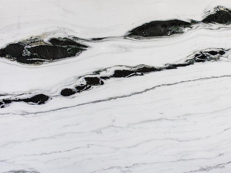 View of Marble - Azerocare Bianco Lasa Macchia Vecchia 3cm