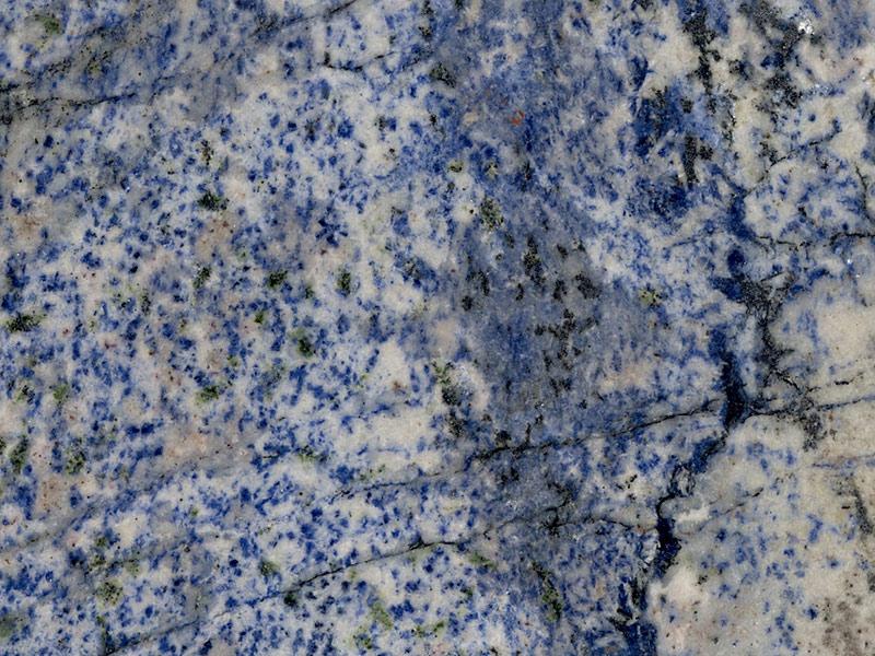 View of Granite - Blue Bahia 2cm & 3cm