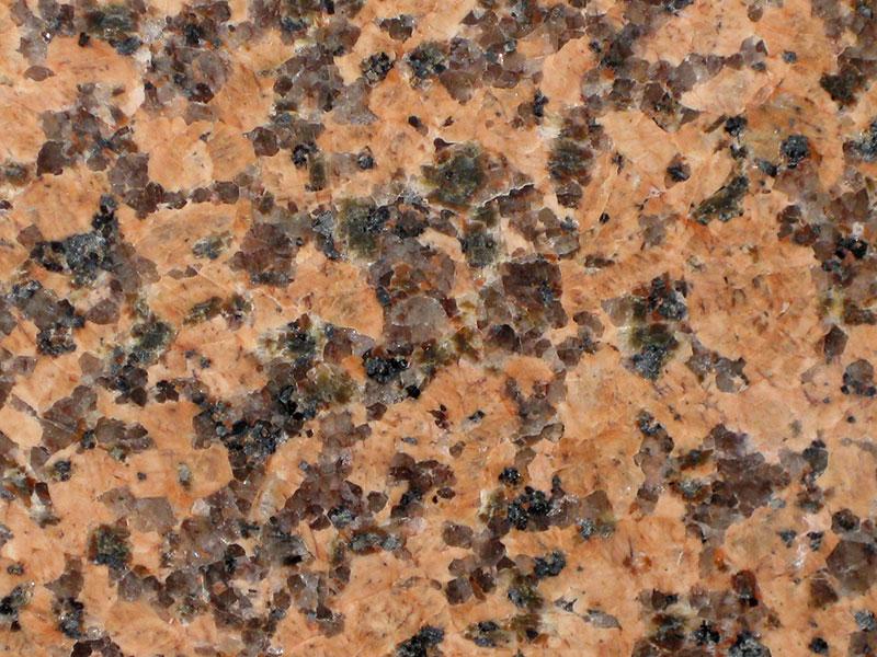 View of Granite - Eaglet Red 2cm